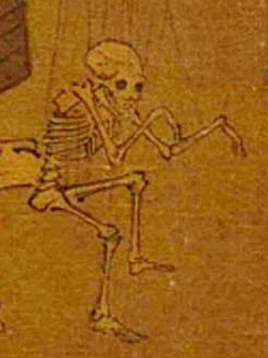 骷髅寓意,骷髅幻戏图,想向世人诉说什么?