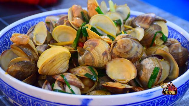 蛤蜊的做法,蛤蜊这样做,干净无沙子,鲜香美味又下饭