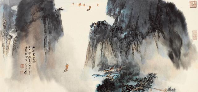 生死与八字,著名画家张大千一生命运赏析,真是生死有命,富贵在天