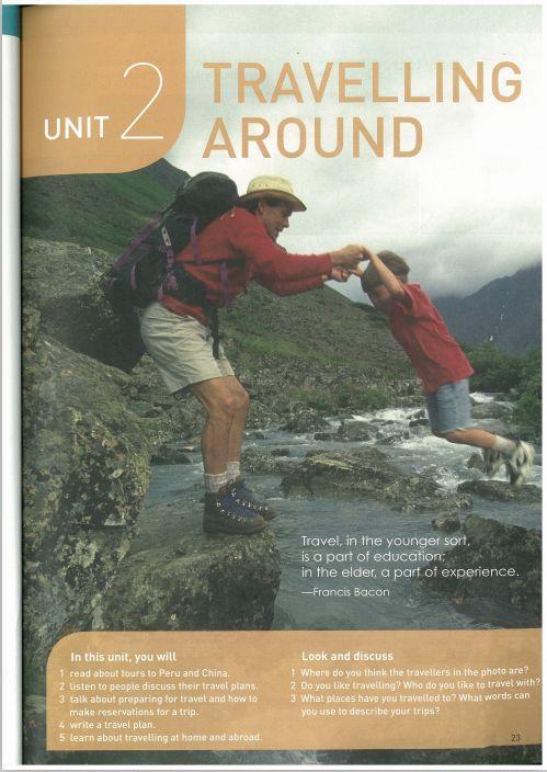 新人教版 高中英语必修一 Unit 2 课文知识点梳理
