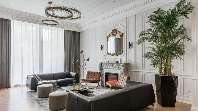 欧式装修,120㎡欧式+轻奢,一个大胆的风格设计,装出别样的华丽与舒适