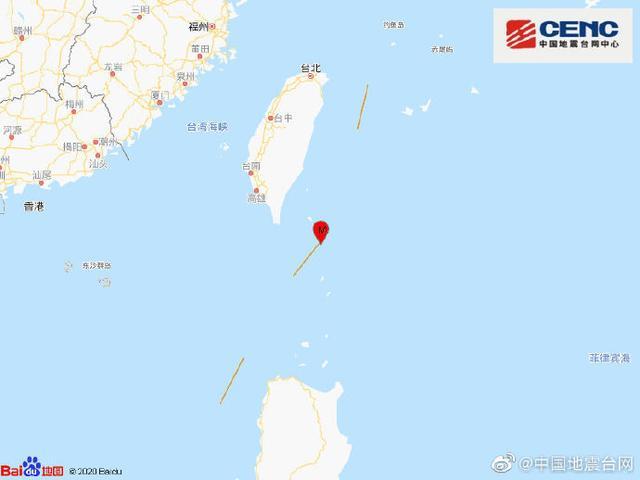 台湾台东县海域发生4.6级地震 全球新闻风头榜 第1张