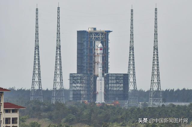 火箭图片,长征七号改遥二运载火箭成功发射