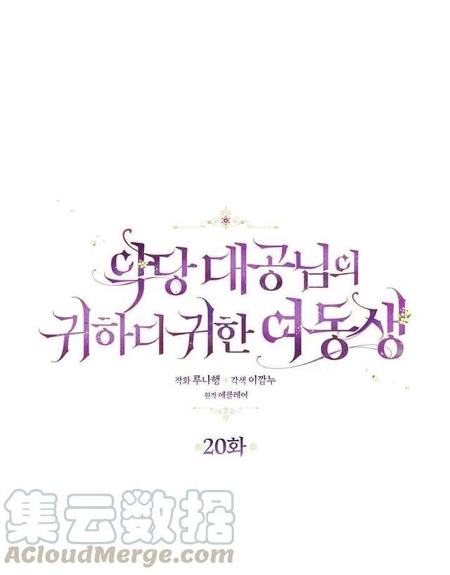 邪恶妹妹漫画,「漫画」韩漫-恶棍公爵的宝贝妹妹20