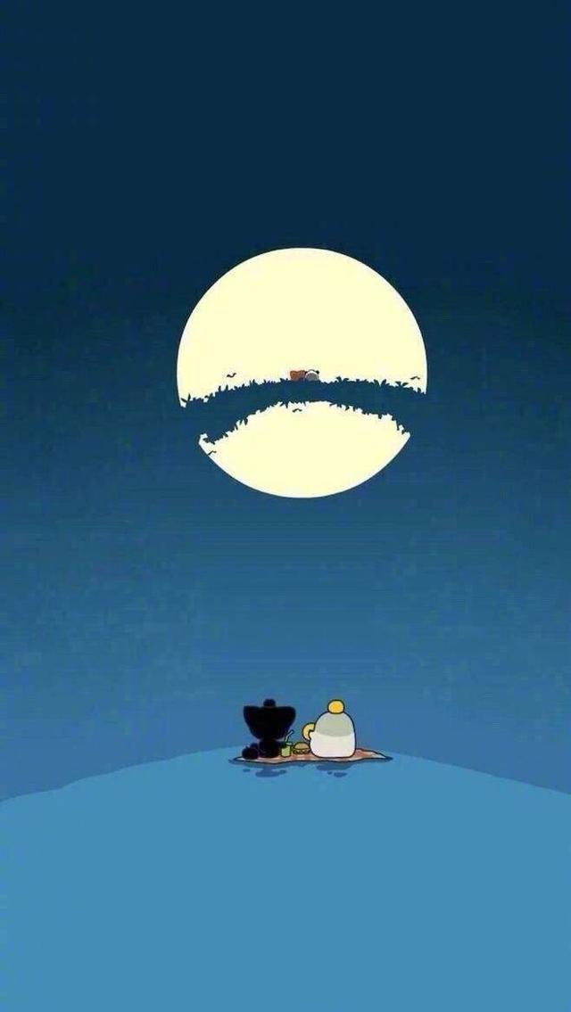 冰心写的现代诗,现代诗歌‖中秋之夜,我们有的是明月亮