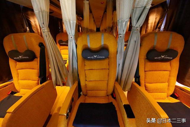 大客车图片,日本的长途客车:豪华奢侈,舒适度让你难忘