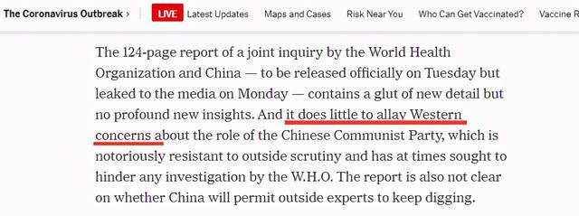 世卫组织报告提前泄露,他们看了很失望 全球新闻风头榜 第1张
