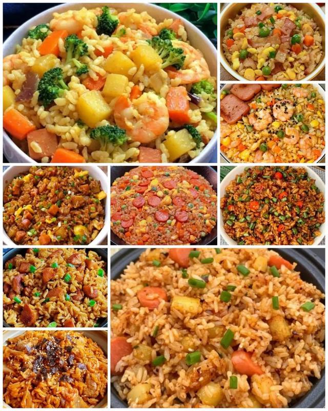炒饭的做法大全,10种好吃又简单的炒饭做法