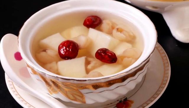 山药汤的做法,每日美食,分享燕麦红枣山药汤的做法