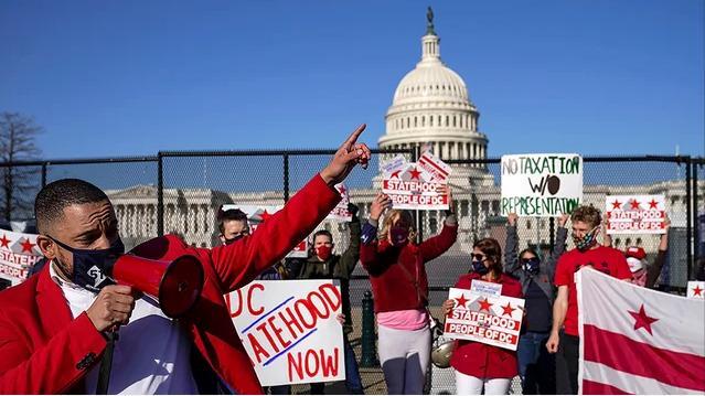 美国众议院投票支持将华盛顿特区列为美国第51个州的立法 全球新闻风头榜 第1张
