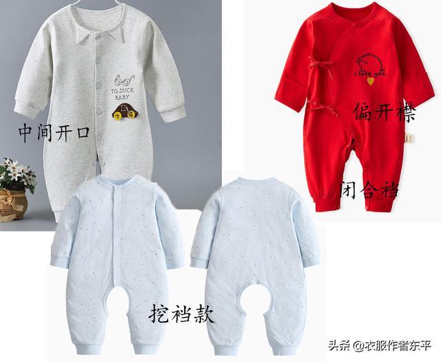 婴儿连身衣,自己动手给宝宝做件夹棉连体衣,成本只要5元钱。舒服又实惠