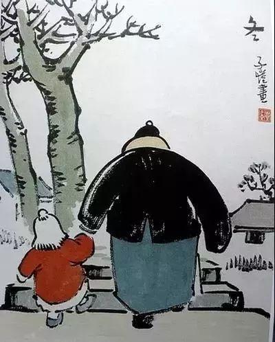 丰子恺漫画,丰子恺的小漫画、大道理,每一条都值得背诵   周末好文