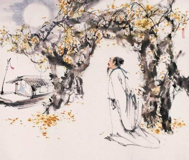 月是故乡明的前一句,刘禹锡的这首诗,表面明白如话,实际却韵味无穷