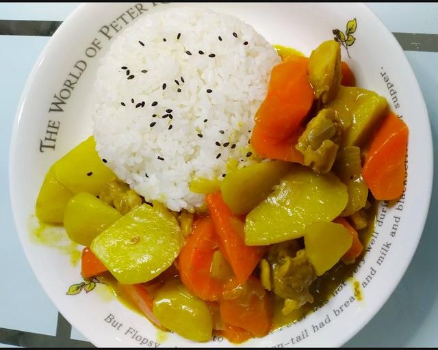 咖喱饭的做法,40分钟,做成色香味俱全的咖喱饭,好吃到吃光盘,简单好做