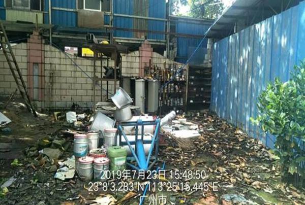 广州印刷厂,广州一印刷厂涉嫌偷排多年,深埋管道直排印刷废水和废机油