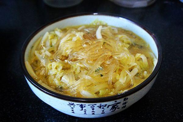 白菜炖粉条的家常做法,简单易做的#下饭红烧菜#白菜炖粉条,让人吃了还想吃