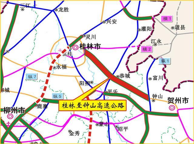 广西交通投资集团,好消息!广西两条高速公路同时开工建设,快看有没有过你家