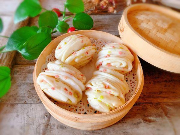 火腿的吃法,#新春美味菜肴#火腿葱花卷