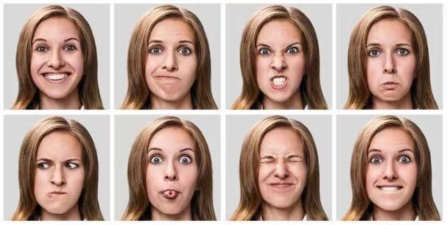 笑脸图片,8种面部表情实时追踪,你的喜怒哀乐全被AI看穿了