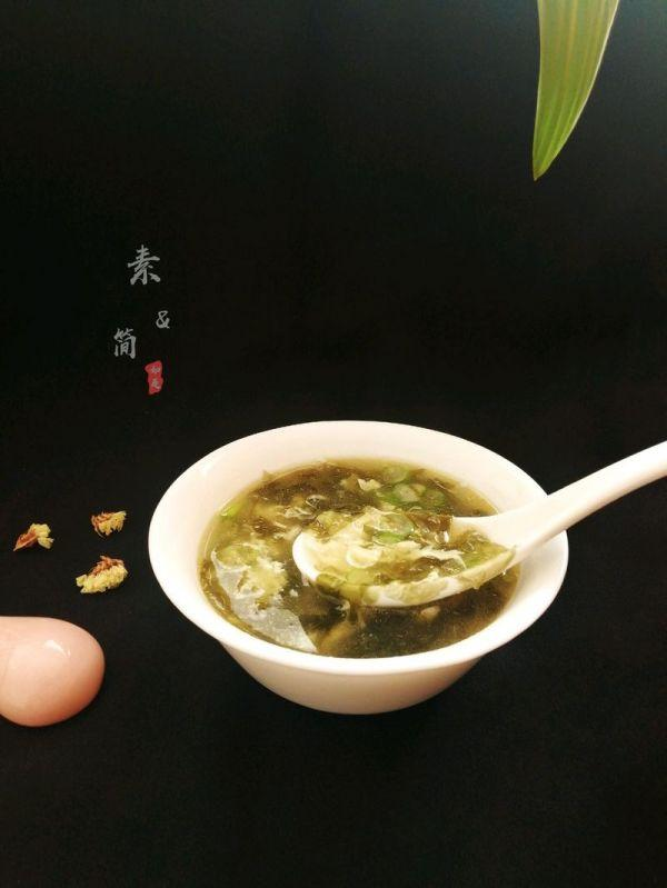 紫菜的吃法,#百变鲜锋料理#简单美味的紫菜虾皮蛋花汤