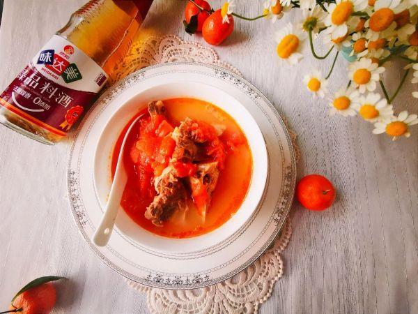 牛尾汤怎么做,#味达美名厨福气汁,新春添口福#满屋飘香的番茄牛尾浓汤