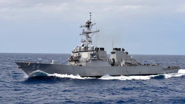 """美""""威尔伯""""号驱逐舰穿航台湾海峡 东部战区:对美舰穿航行动全程跟踪监视 全球新闻风头榜 第3张"""