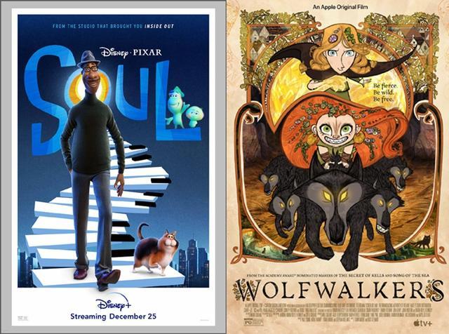 美国 动画片,第48届美国动画安妮奖公布,《心灵奇旅》《狼行者》为最大赢家
