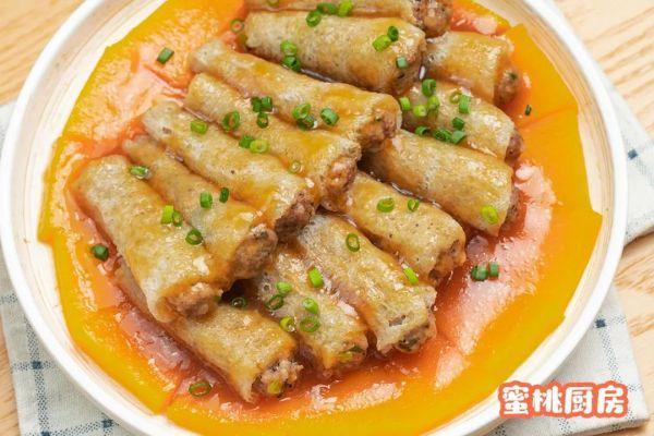 竹荪的做法,最靠谱最好吃最详细的竹荪酿肉做法!零失败