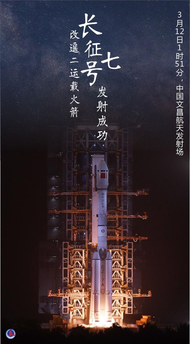 [航天]长征七号改遥二运载火箭发射成功 全球新闻风头榜 第1张