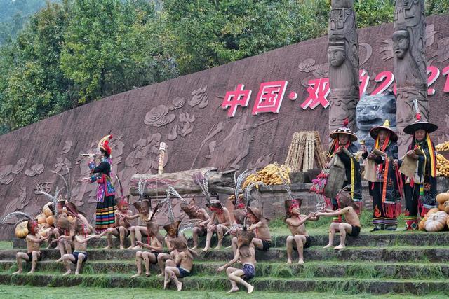 彝族的节日,原汁原味民族风!中国·双柏2021彝族虎文化节开幕