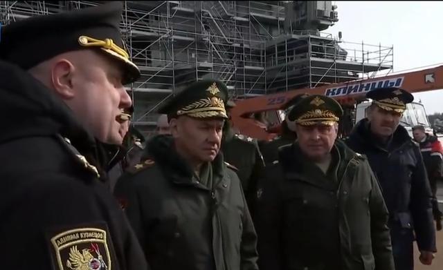 俄海军唯一航母最新状态曝光,俄防长催促船厂赶快修好 全球新闻风头榜 第1张