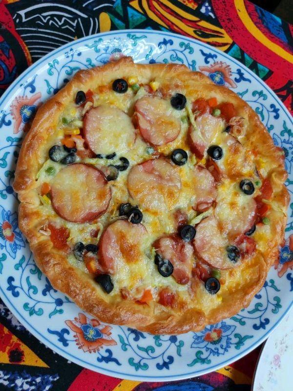 干酪的吃法,异国风情干酪蔬菜披萨好吃下饭的小秘诀,快快学起来
