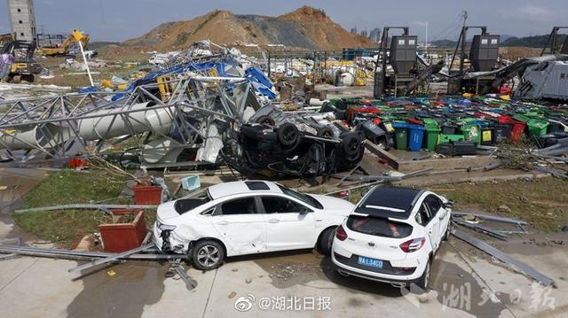 现场直击武汉龙卷风:定为EF2级龙卷风 已致8死230伤
