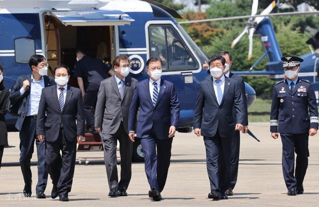 韩国总统文在寅今日启程访美 5月22日将会晤拜登 全球新闻风头榜 第1张