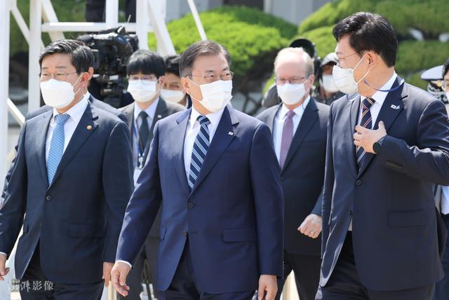 韩国总统文在寅今日启程访美 5月22日将会晤拜登 全球新闻风头榜 第5张