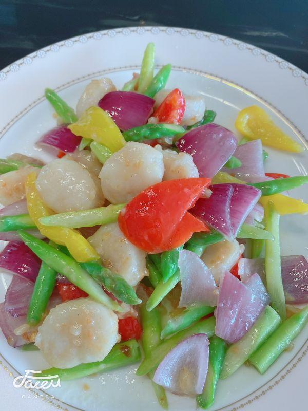 瑶柱的做法,家常菜这么多,简单又营养的芦笋炒干贝一定不可错过