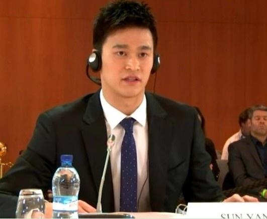 瑞士体育仲裁法庭:孙杨听证会已经结束,最迟六月底宣布结果