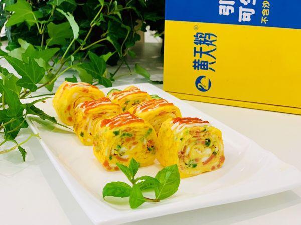 芝士的吃法,#助力高考营养餐#芝士火腿厚蛋烧