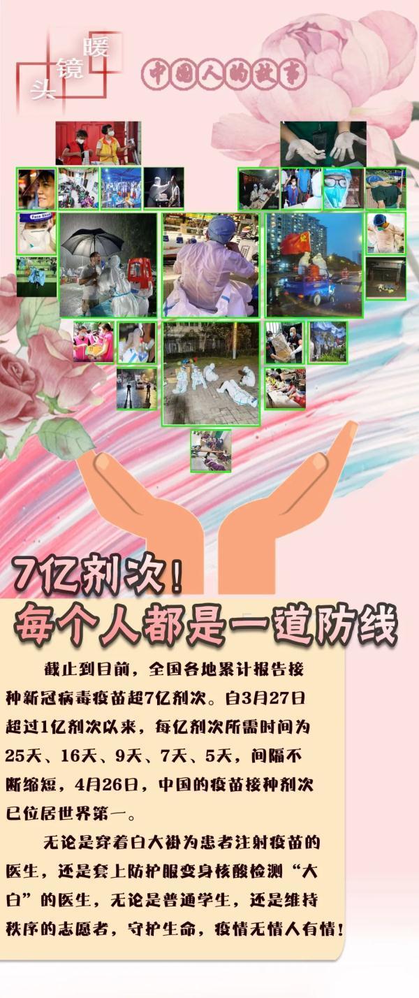 中国人的故事|暖镜头:7亿剂次,每个人都是一道防线 全球新闻风头榜 第1张