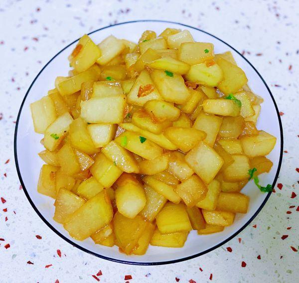 海米的吃法,这样做海米烧冬瓜,比饭店做的好吃百倍,做法超简单