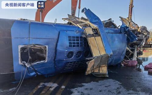 河北平山:通勤车涉水倾覆事故失联人员全部找到,共14人遇难 全球新闻风头榜 第1张