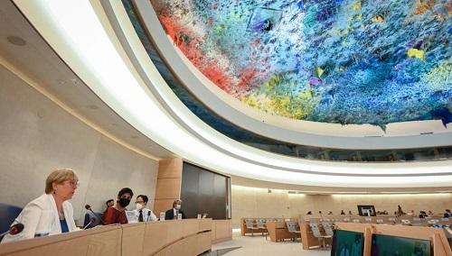 美媒:联合国人权理事会成美国菜市场 特朗普时走掉拜登时又回来