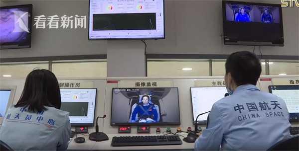 神舟十三号出征在即:3名航天员训练画面曝光