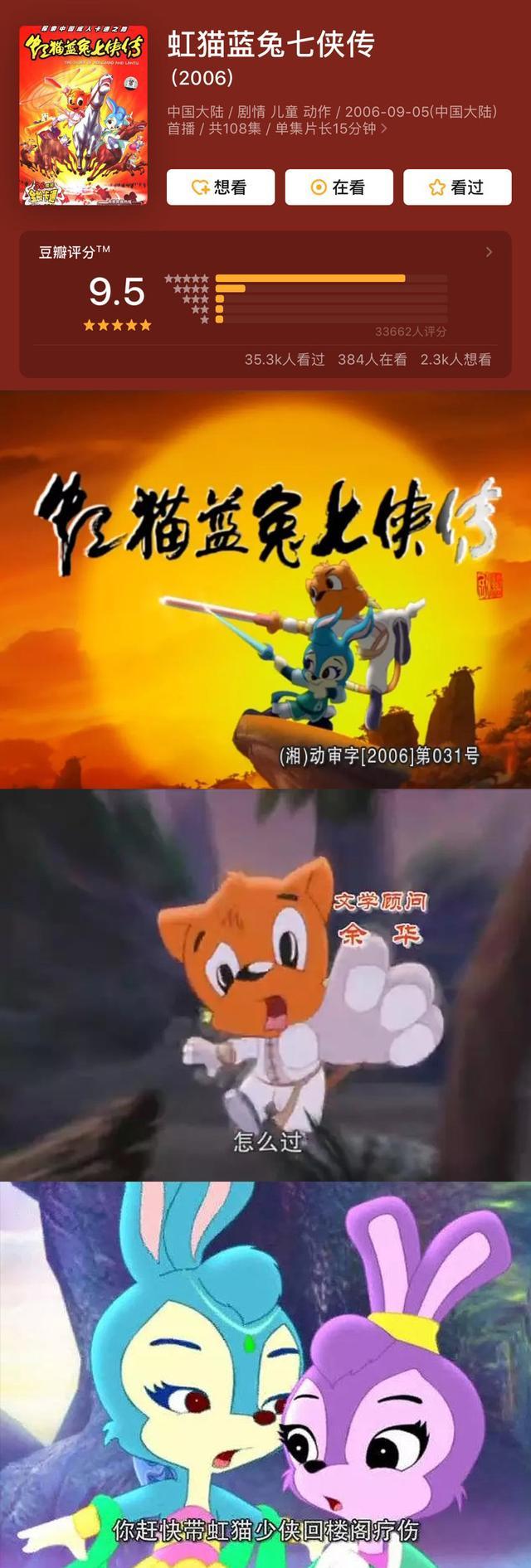 中国经典动画片,让人难忘的9部童年国漫,评分最高9.5,看过的都老了