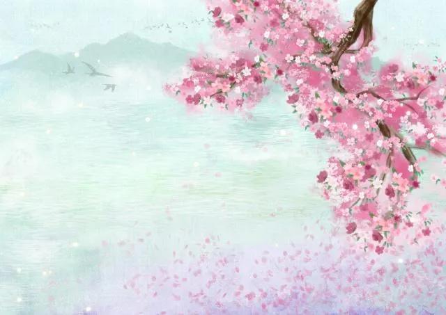 """形容人美丽的成语,赞人貌美不可用,""""人面桃花"""""""