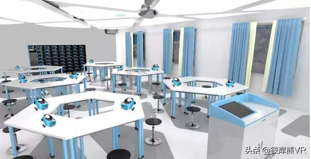 vr方案,打造一间VR教室,原来还有这么多方式