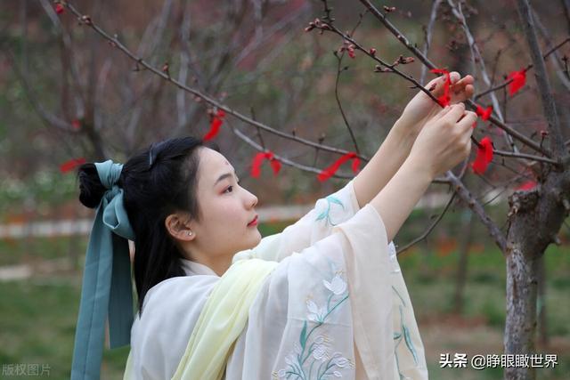 今天是什么节日,中国传统节日:花朝节来临,全国汉服爱好者,争相庆祝