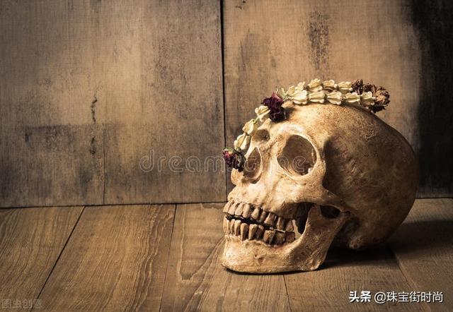 骷髅头图片,神转折!曾经令人胆寒的骷髅头,怎就引领了时尚界