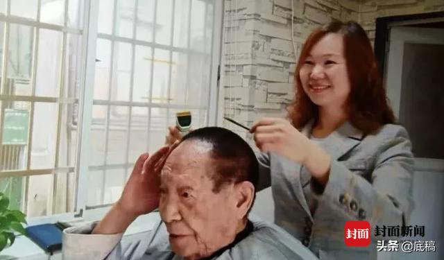 姓曹的名人,袁隆平91岁还找她理发 曹小平痛哭失声:好想再给袁老理一次发
