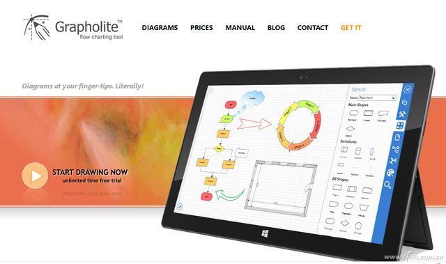 怎么做图,办公小技巧:不用Office 免费设计制作流程图